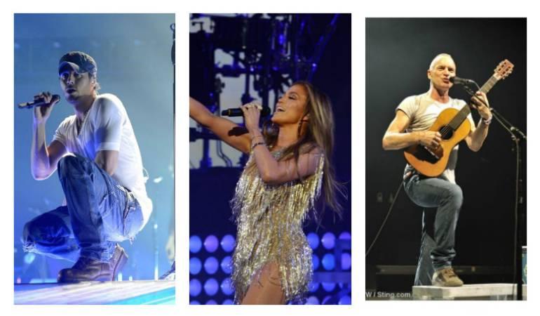 La boda del año: Sting, Enrique Iglesias y Jennifer López cantaron en la boda del siglo