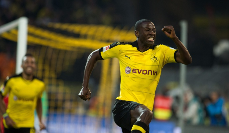 Adrián Ramos gol Borussia Dortmund: Adrián Ramos marcó el gol del triunfo para el Borussia Dortmund