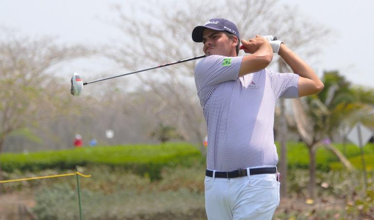 Torneo colombiano de golf: Adam Schenk y Roberto Díaz, líderes de torneo colombiano de golf