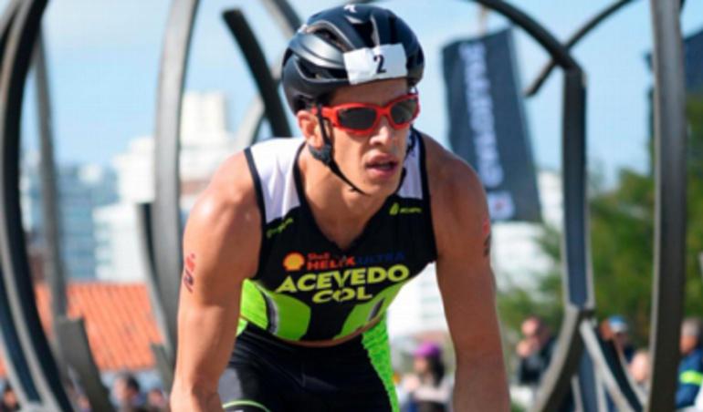 Iroman 70.3 Rodrigo Acevedo: Rodrigo Acevedo, único colombiano en el Ironman 70.3
