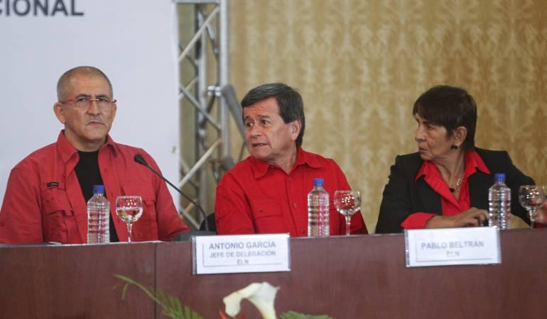 Eln anuncia que en mayo inicia primera mesa pública del proceso de paz