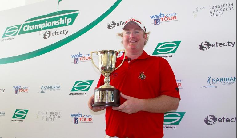 Brad Fritsch, campeón del Servientrega Championship: Brad Fritsch, campeón del Servientrega Championship
