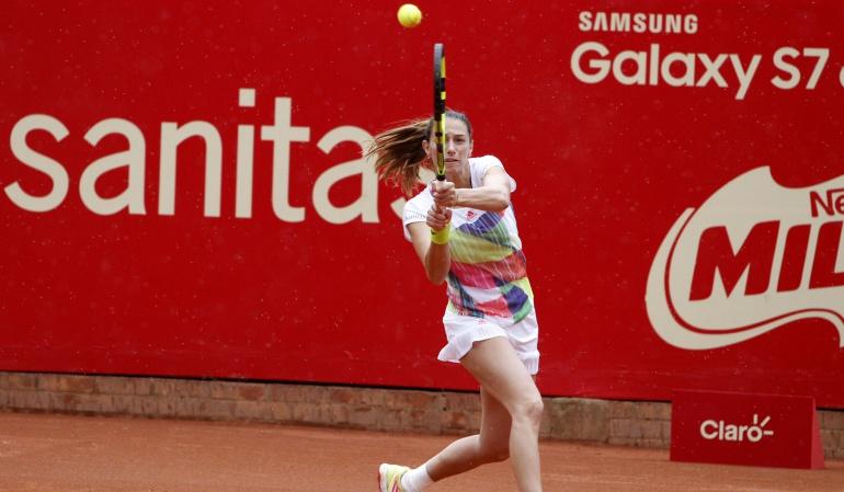 Mariana Duque, tenista bogotana