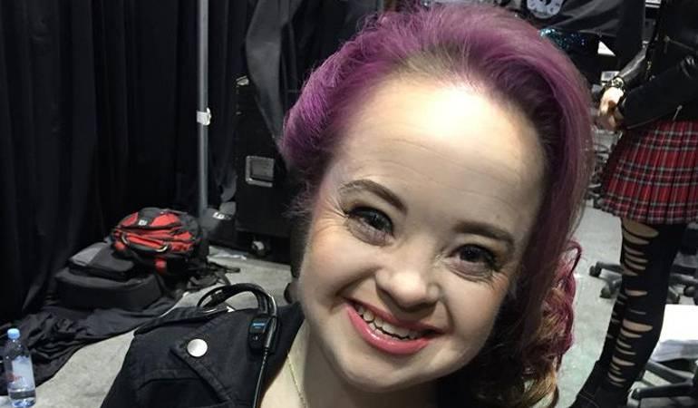 Modelo con síndrome de down: La primera mujer con síndrome de Down en ser la imagen de una campaña de belleza