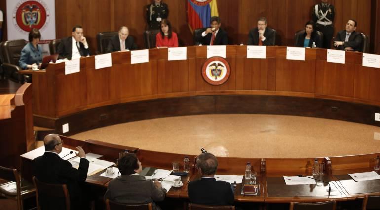 Corte Constitucional dejaría en firme el artículo que tumbó la reelección presidencial