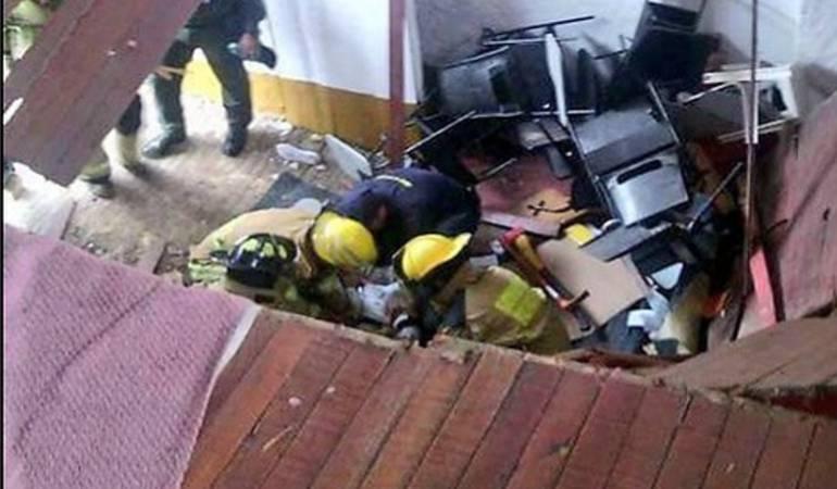 Se recuperan 28 niños que resultaron lesionados tras colapso de estructura en Fusagasugá