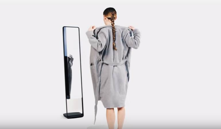 Espejo 3D: El espejo inteligente que le dirá si está pasado de peso