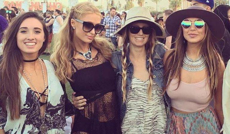 Coachella 2016: Taylor Swift, Katy Perry y más famosos en el festival: Famosos se desordenan en el festival de música Coachella