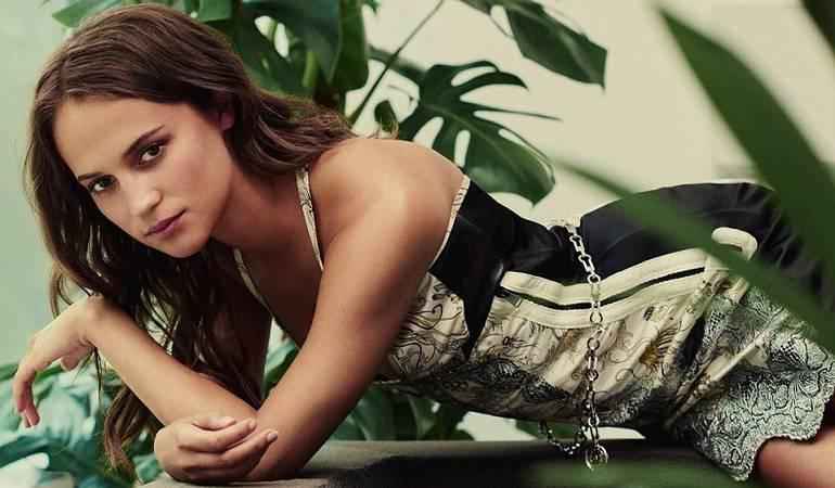 """Alicia Vikander será Lara Croft en la nueva versión de """"Tomb Raider"""""""