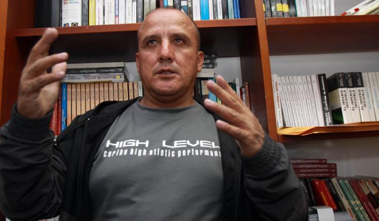 Arbey Delgado.