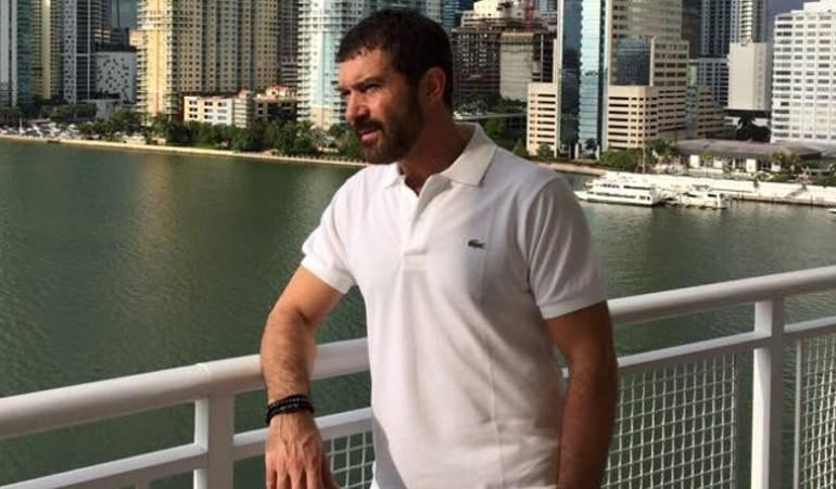 Nueva marca para hombres Antonio Banderas: Antonio Banderas presenta el logo de su marca de moda para hombres