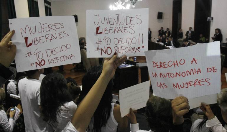 Abortos en Colombia: Abortos del espíritu santo