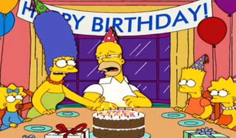 Cumpleaños 60 de Homero Simpson: Homero Simpson está de cumpleaños