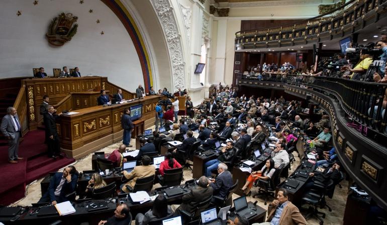 """Parlamento venezolano desaprueba por """"inconstitucional"""" estado de excepción"""