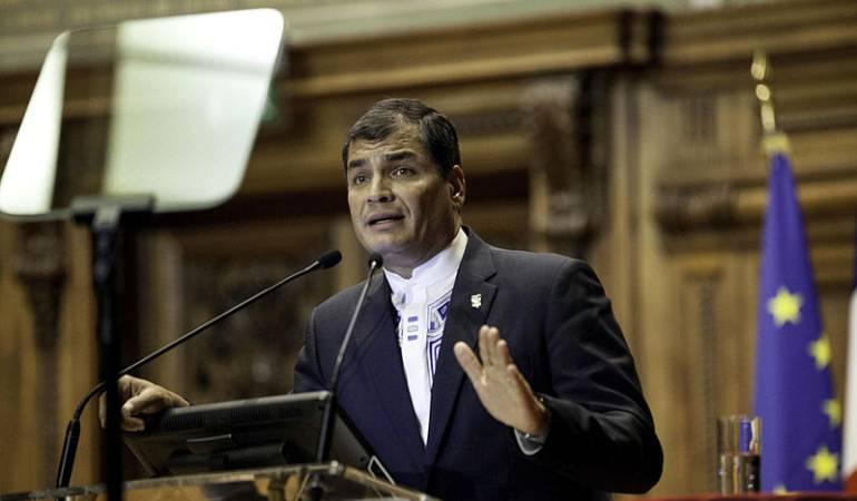 Rafael Correa saluda el proceso de paz de Colombia: Estamos preparados para enfrentar los efectos negativos del proceso de paz: Rafael Correa