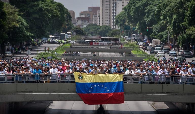 VENEZUELA OPOSICIÓN: Oposición venezolana anuncia reunión con Zapatero, Torrijos y Fernández