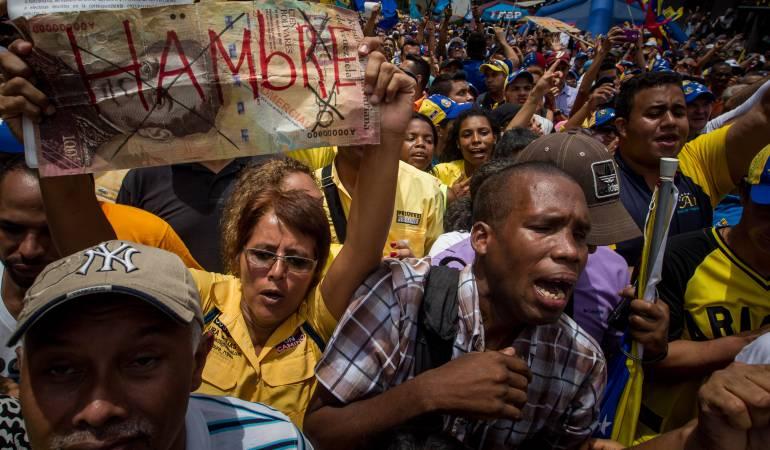 Crisis en Venezuela: Crónica de un paseo por la Venezuela chavista