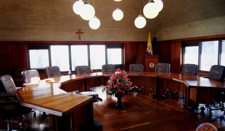 Cristo de la Corte Constitucional: Cristo de la Corte Constitucional se queda