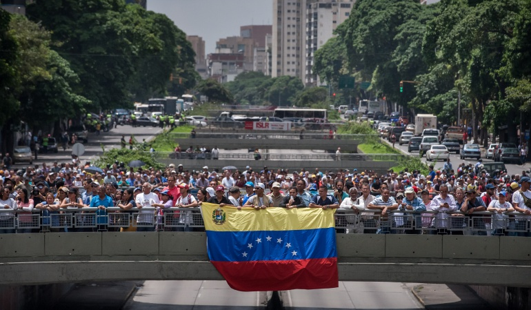 Situación social en Venezuela Unasur: Unasur cree que extremar posiciones agravará la situación social en Venezuela