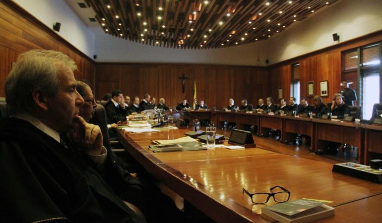 Corte Suprema prepara reunión con gabinete de paz: Corte Suprema de Justicia alista reunión con equipo de paz