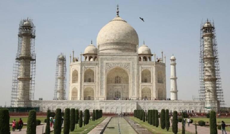Taj Mahal: Por qué el Taj Mahal se está poniendo verde