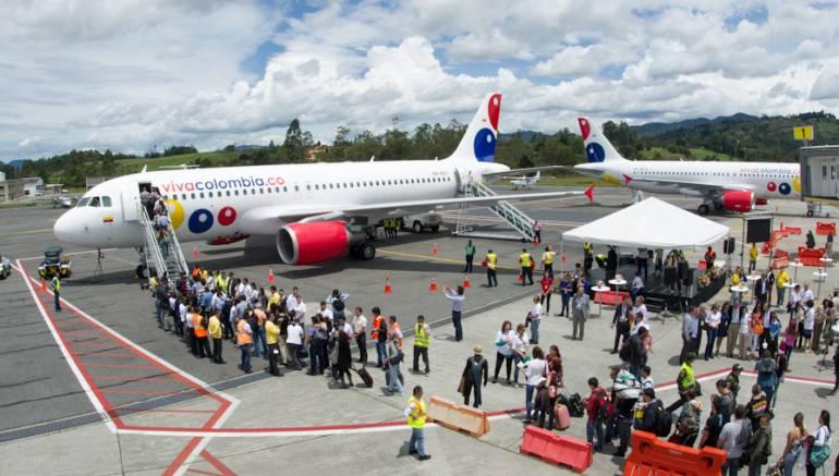 Aerolínea VivaColombia anuncia dos nuevos vuelos internacionales