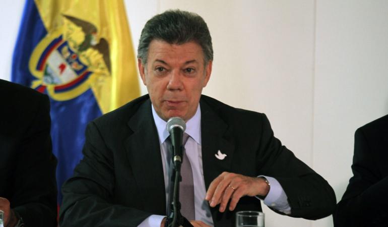 Liberación Salud Hernández: No habrá mesa de negociación hasta que el ELN libere a todos los secuestrados: Santos