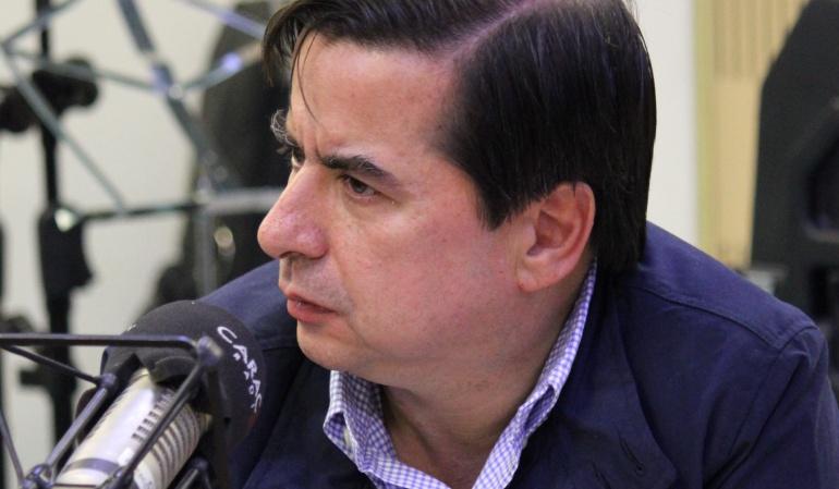Ministro de Interior, Juan Fernando Cristo