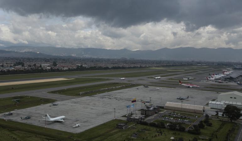 Pista Norte de El Dorado de Bogotá