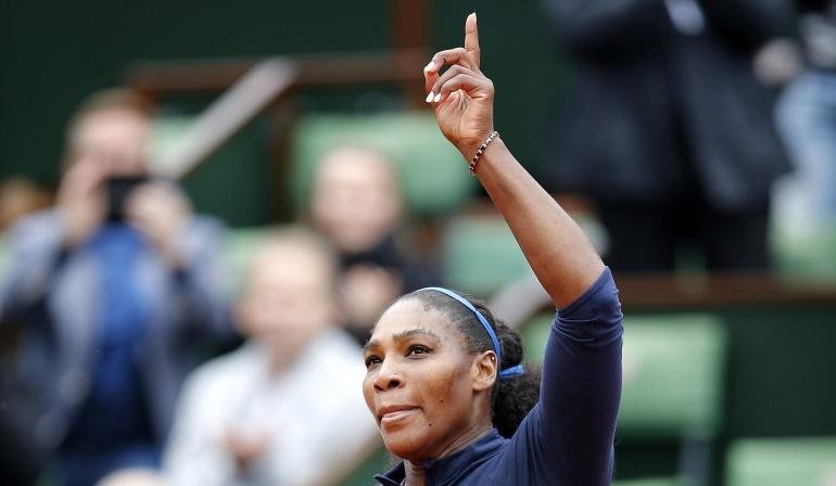 Serena Williams se cita con Muguruza en la final de Roland Garros