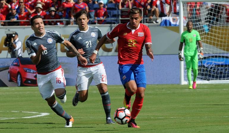 Costa Rica Paraguay 0-0 Copa América Centenario: Costa Rica y Paraguay empatan 0-0 en un discreto partido