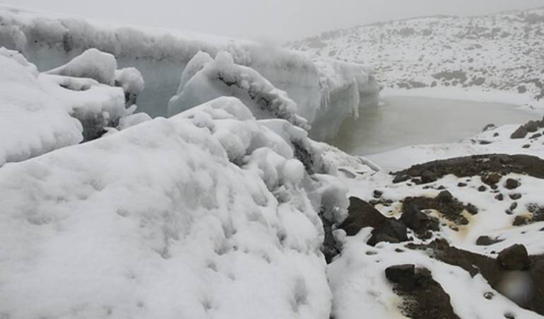 Después de 20 años, volvió a nevar en la Sierra Nevada de El Cocuy, Boyacá: Después de 20 años, volvió a nevar en la Sierra Nevada de El Cocuy, Boyacá