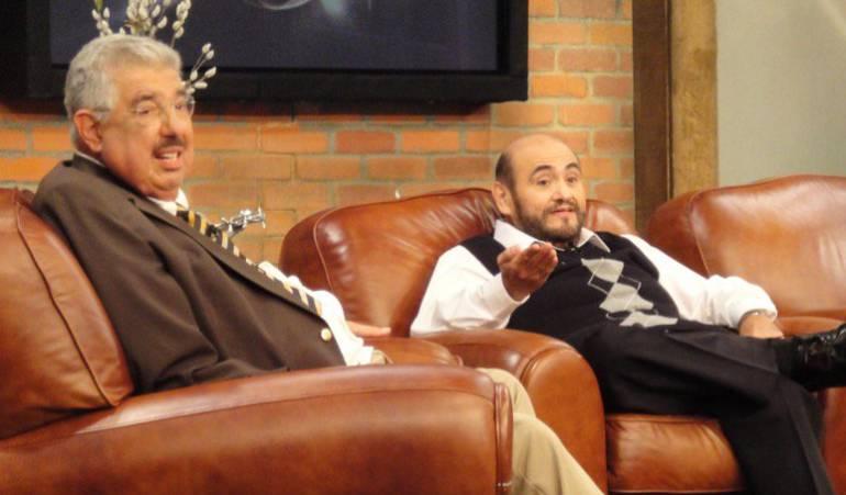 """Ñoño y el señor Barriga se despiden del profesor Jirafales: El """"señor Barriga"""" lamenta la muerte del """"profesor Jirafales"""""""