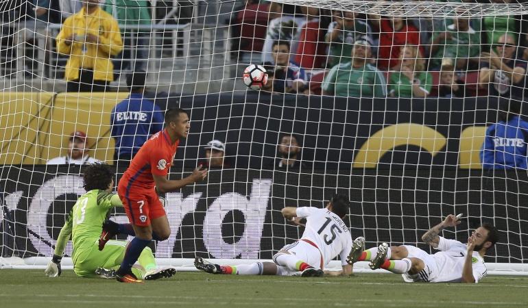 Con México, Osorio se despide humillado por Chile