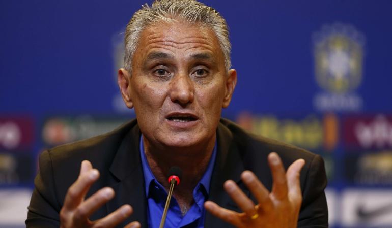 Nuevo DT de Brasil observará a Colombia ante Chile, de cara a juego por Eliminatorias