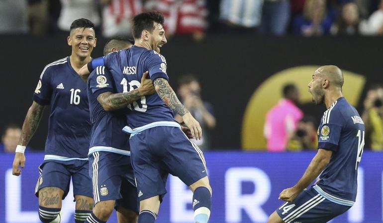 Argentina golea a EE.UU. y se mete en la final de la Copa América