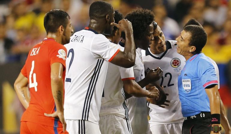 En medio de la 'tormenta' Colombia cayó ante Chile