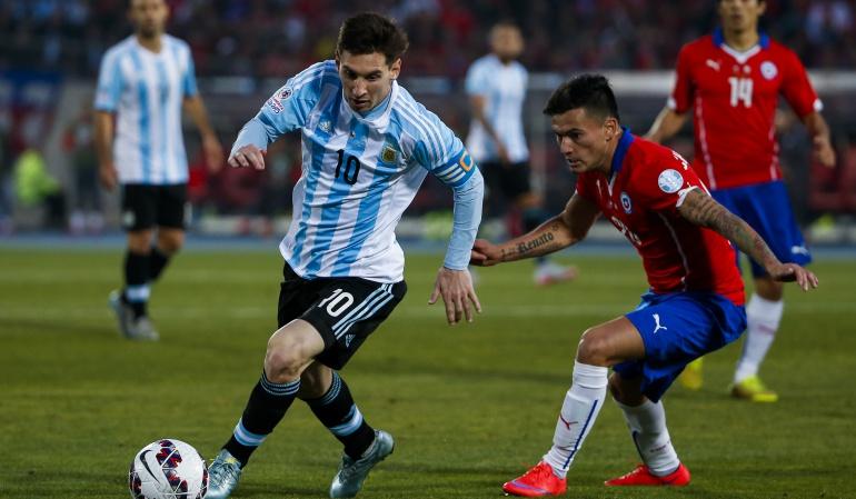 Argentina Chie final Copa América Centenario: Argentina y Chile repetirán la final de 2015