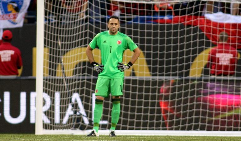 David Ospina Colombia Copa América: Es complicado empezar perdiendo tan rápido ante un gran rival: David Ospina
