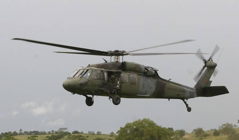 Accidente helicóptero Ejército: Muertos los 17 tripulantes de helicóptero accidentado