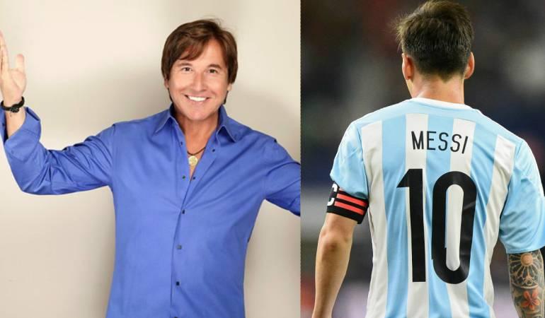Montaner alienta a Messi para no renunciar a su selección: Montaner tampoco quiere que Messi renuncie