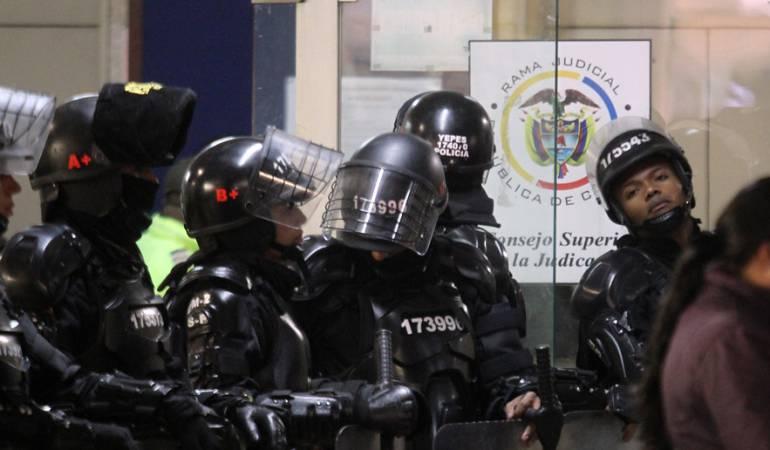 No hay protesta pacífica en el paro camionero, son actos de vandalismo: Subdirector Policía Nacional: No hay protesta pacífica en el paro camionero, son actos de vandalismo: Subdirector Policía Nacional