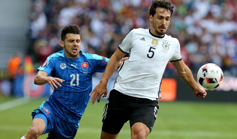 Hummels Alemania Italia Eurocopa: Italia es de los mejores del torneo, será muy difícil ganarles: Hummels