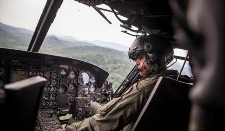 Accidente en helicóptero del Ejército: El Ejército rescató los cuerpos sin vida de las víctimas de accidente aéreo