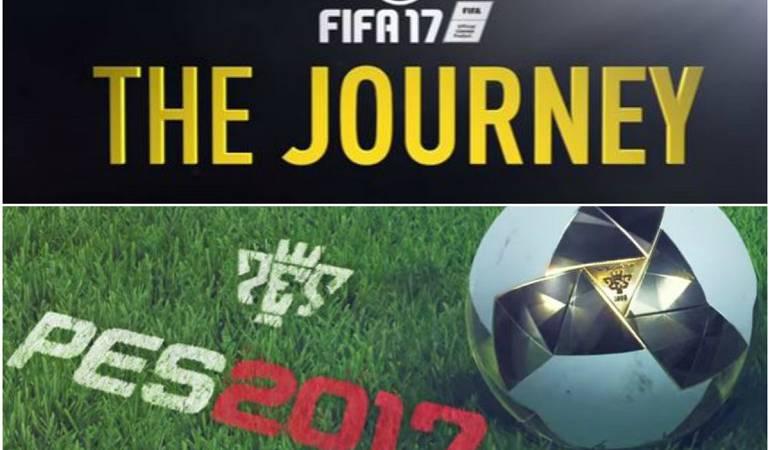 Lanzamiento de FIFA y PES: PES 2017 y FIFA 17, los dos grandes que buscan conquistar el título