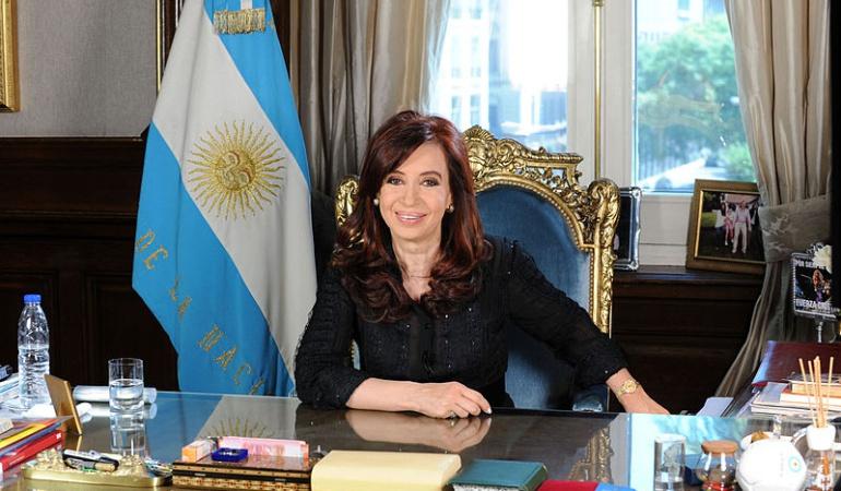 Expresidente de Argentina, Cristina Fernández