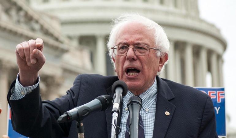 Senador estadounidense, Bernie Sanders