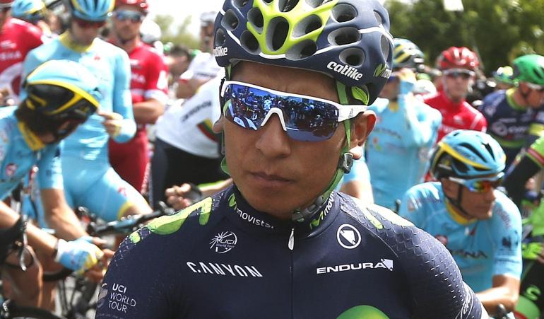 Nairo Quintana ataque Froome Movistar: Quintana no ha sido capaz de reaccionar al ataque de Froome: Director de Movistar