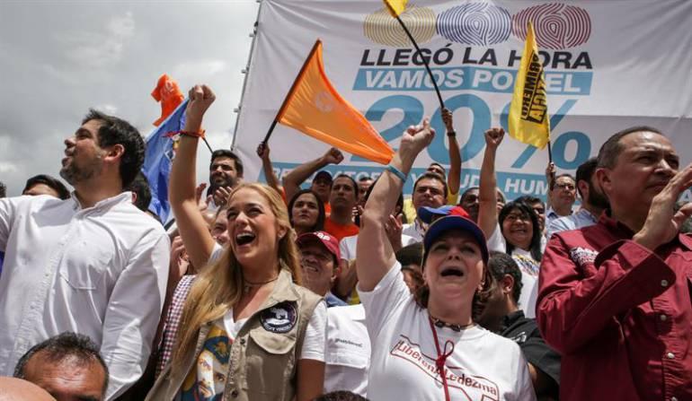 Venezuela espera luz verde para saber si hay revocatorio contra Maduro