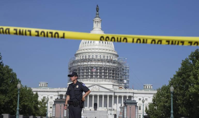 Reabren el capitolio estadounidense luego de una alerta de seguridad